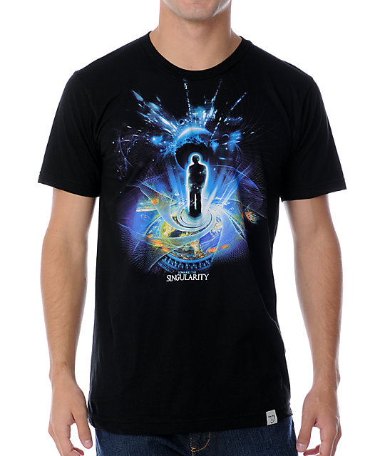 Imaginary Foundation Singularity Black T-Shirt