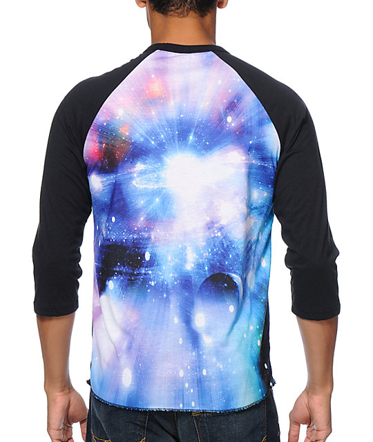 Imaginary Foundation Supernova Sublimated Baseball T-Shirt