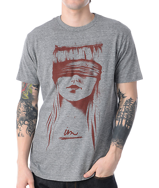 Imperial Motion Blind Justice Grey Tri Blend T-Shirt