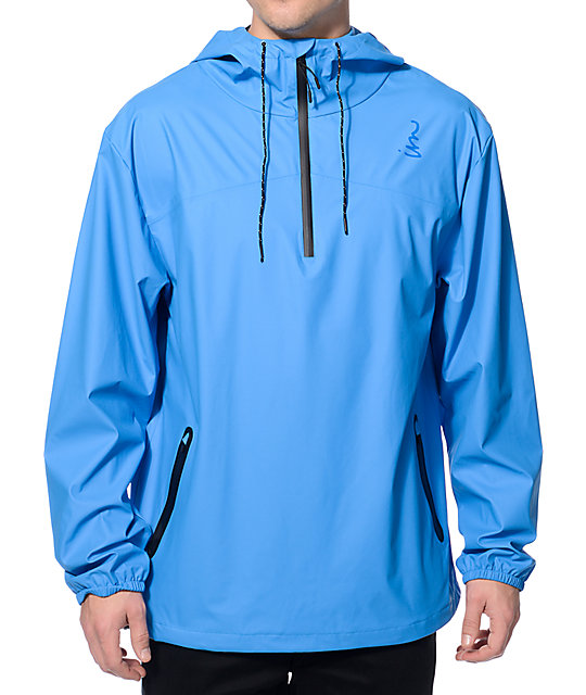 Imperial Motion Brig Blue Quarter Zip Jacket