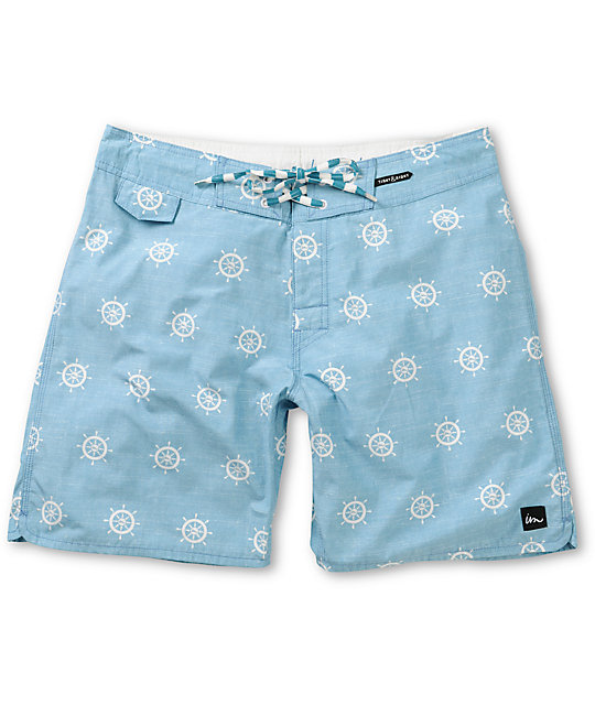 Imperial Motion Capitan Light Blue 18 Board Shorts