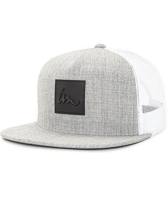 Imperial Motion Caste Grey & White Trucker Hat