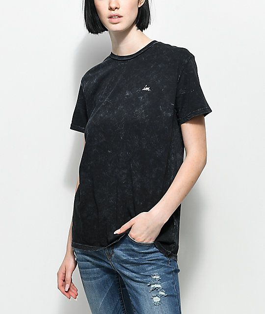 Imperial Motion Chill Seeker Black Mineral T-Shirt