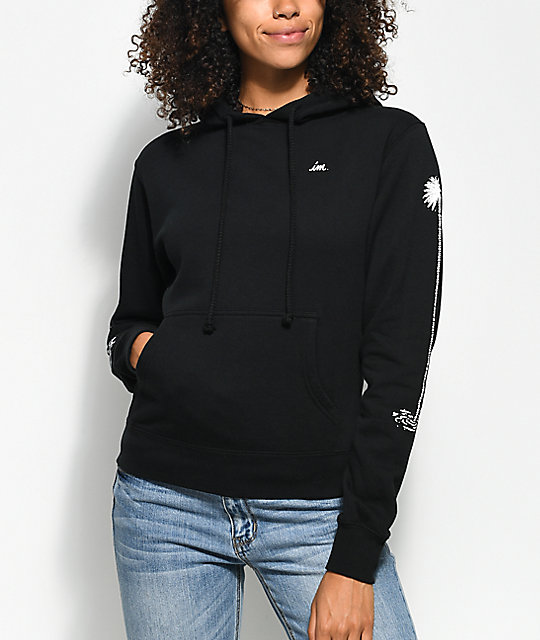 Imperial Motion Chill Seeker Palms Black Hoodie
