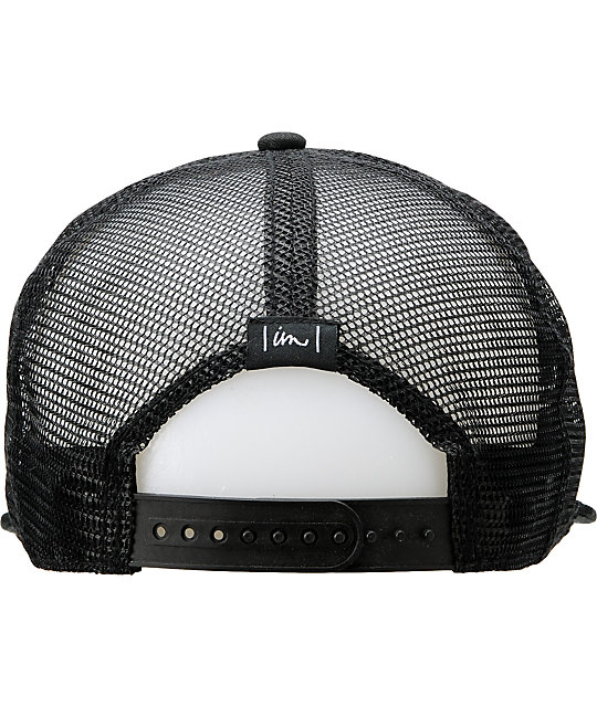 Imperial Motion Freemont Black Snapback Hat