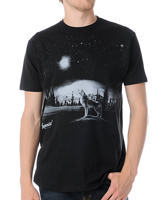 Imperial Motion Full Moon Black T-Shirt