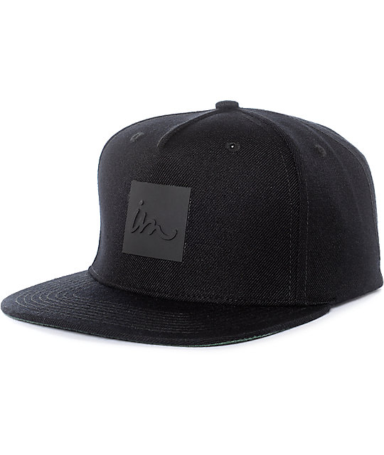 Imperial Motion Lark Black Snapback Hat