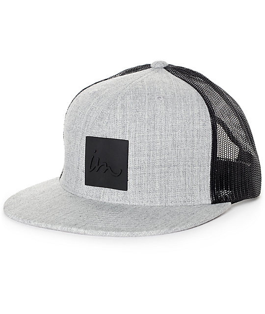 Imperial Motion Lark Grey & Black Trucker Hat