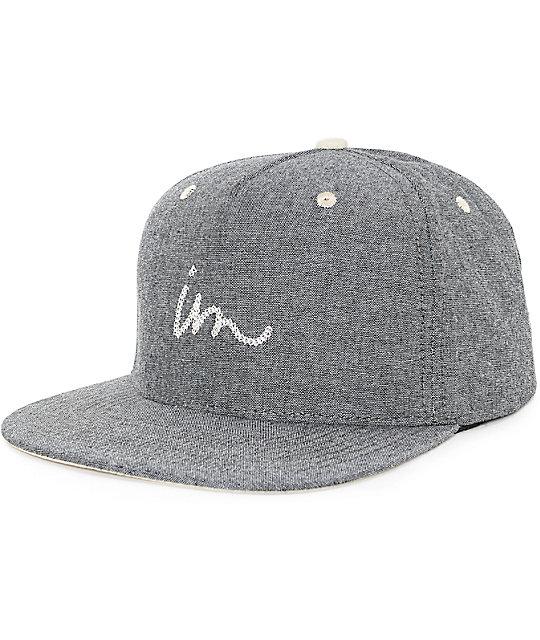 Imperial Motion Links Oxford Black Snapback Hat