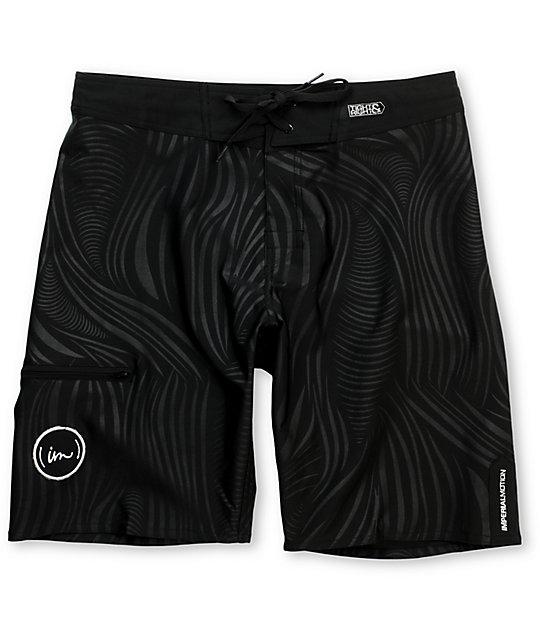 Imperial Motion Medusa 20 Black Board Shorts