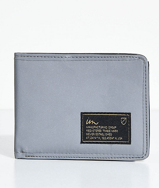 Imperial Motion Patent 3M Silver Bifold Wallet