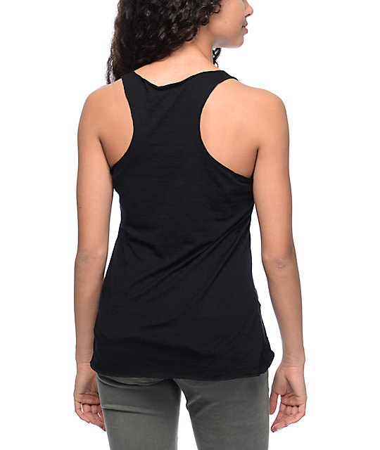 Imperial Motion Peace Hands Black Tank Top