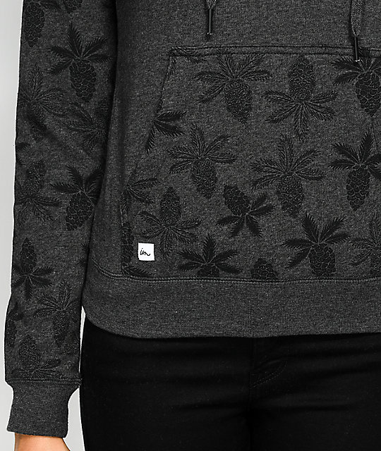 Imperial Motion Program Pineapple Charcoal Hoodie