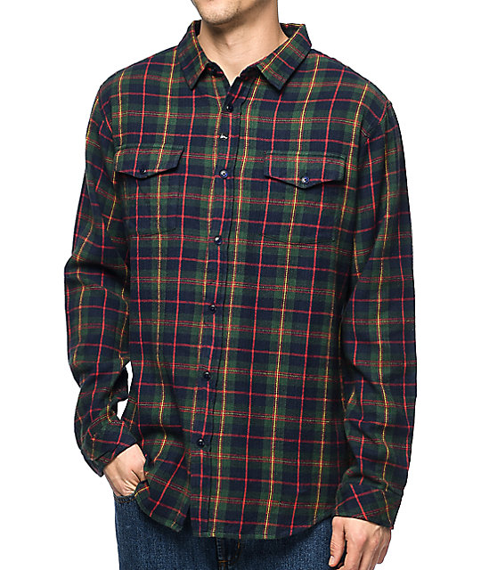 Sherpa Lined Flannel Shirt Jacket