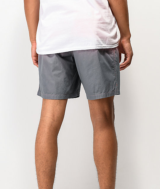 Shorts Motion Volly Tub En Imperial Seeker Coral Y Gris Nnm80yvwO
