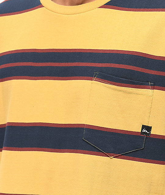 Mostaza Con Bolsillo Motion Camiseta Imperial Vintage 0wPk8nO