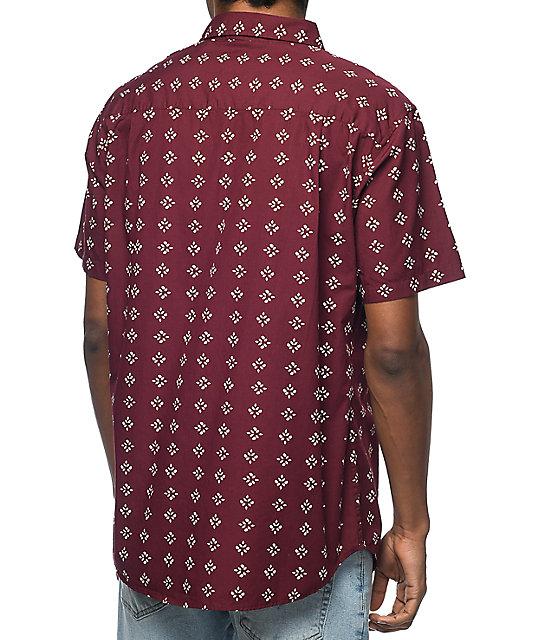 Imperial motion warner cotton short sleeve button up shirt for Cotton button up shirt