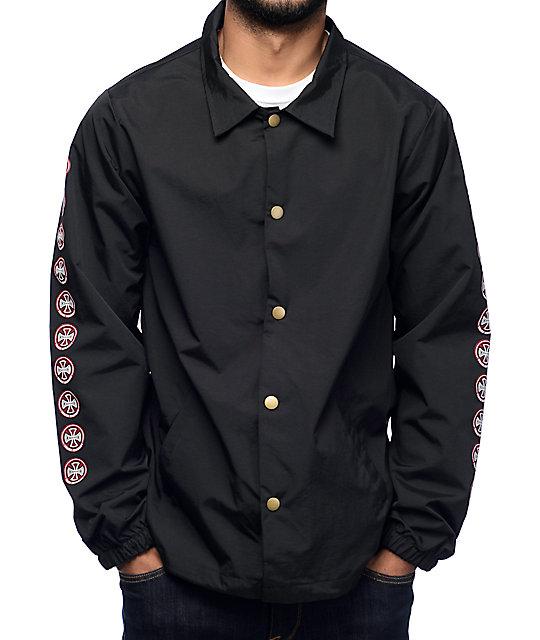 Independent Quatro Black Coaches Jacket