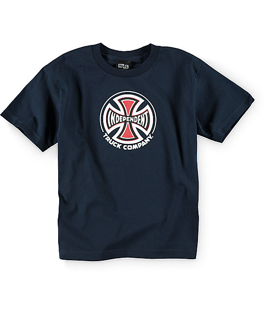 Independent Truck Co Youth Navy T-shirt