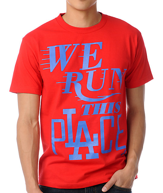 Index Ink We Run Red T-Shirt