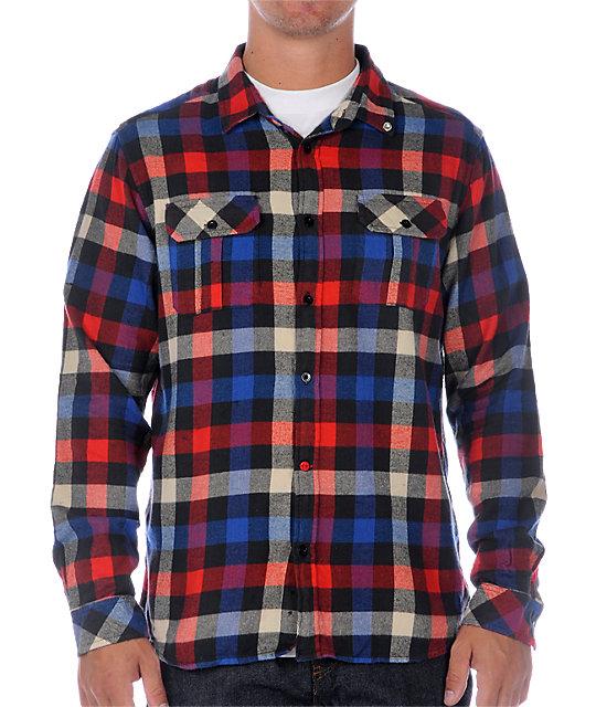 Insight Pervert 2 Blue Woven Shirt