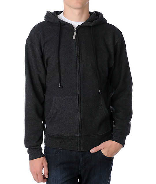 Insound Heather Charcoal Hoodie
