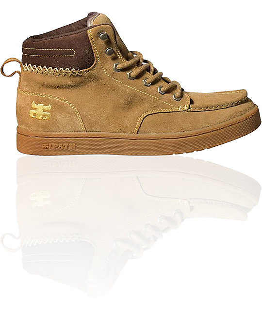 Ipath Aboot Tan Suede Boots