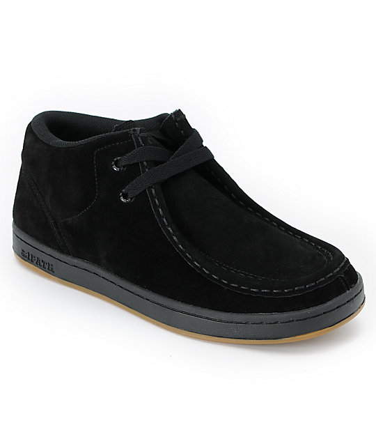 Ipath Cat Black Suede Shoe