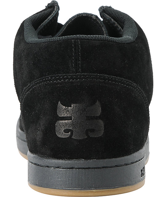 Ipath Cat Black Suede Shoes