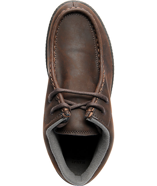 Ipath Cats Brown Nubuck Shoes