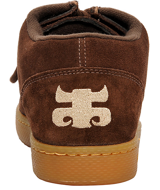 Ipath Cats Brown Suede & Gum Shoes