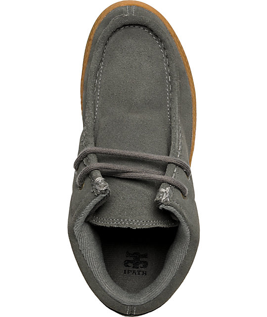 Ipath Cats Charcoal Suede Shoes