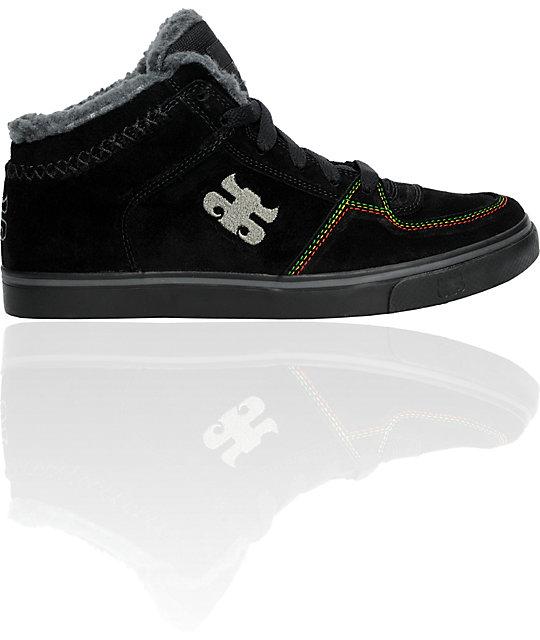 Ipath Reed Black Rasta Sherling Shoes