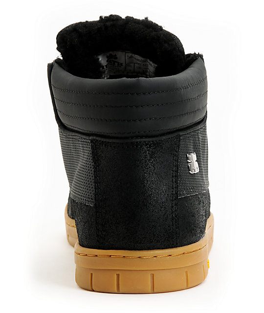 Ipath Trenchtown Vibram Black Suede Boot