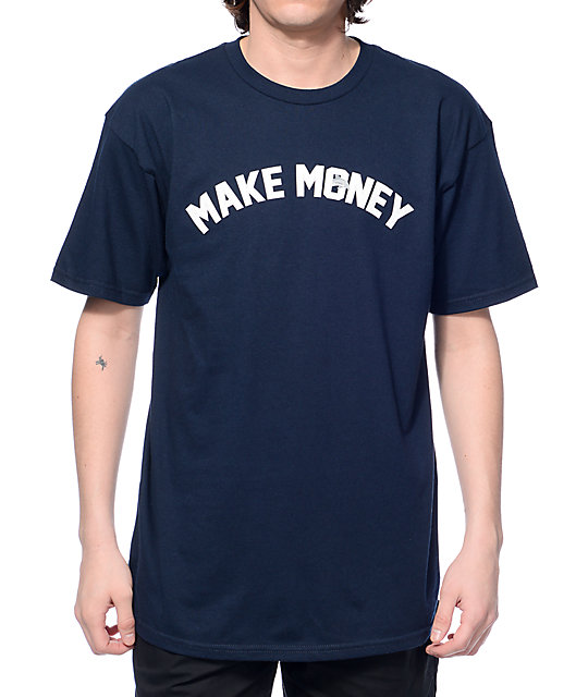 J by jasper make money navy t shirt for How to make money selling t shirts