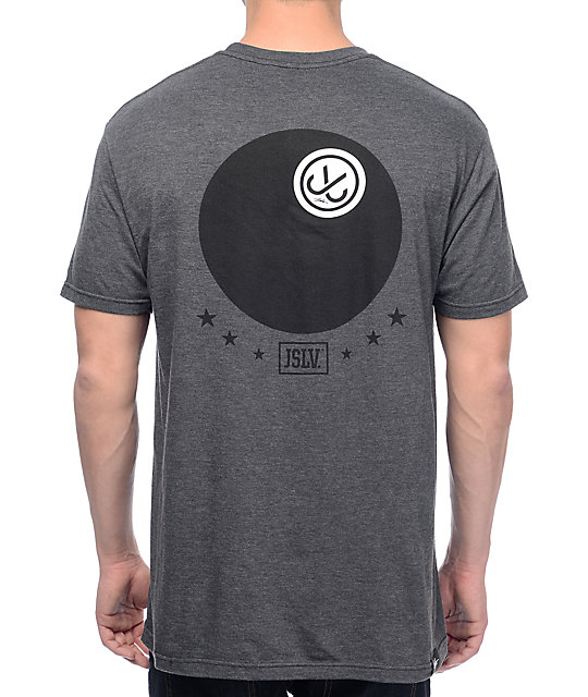 JSLV J-Ball Select Charcoal T-Shirt
