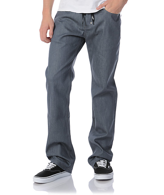 JSLV Proper Denim Regular Fit Grey Jeans