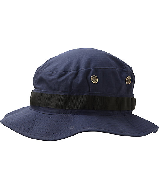 JSLV Stoner Navy Bucket Hat