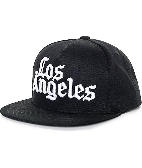 JSLV Times Black Snapback Hat