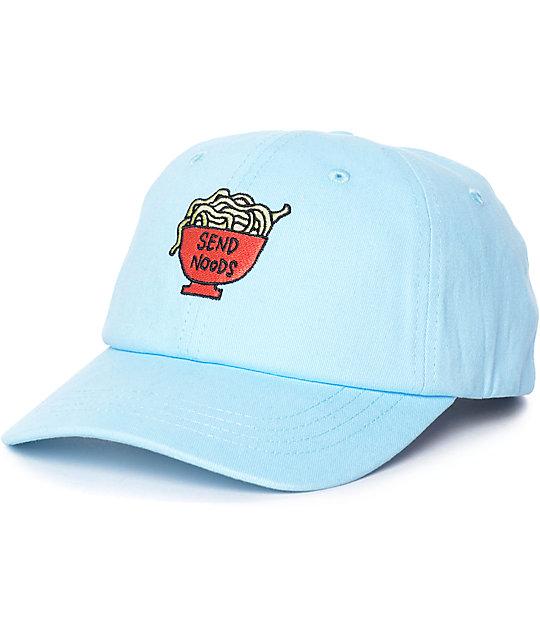 JV by Jac Vanek Send Noods Blue Strapback Hat