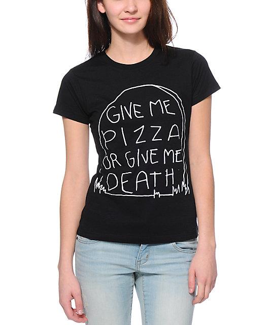 Jac Vanek Give Me Black T-Shirt