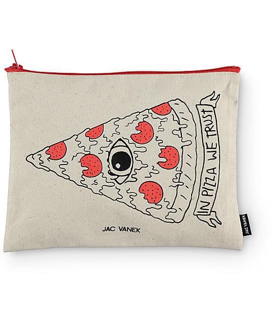 Jac Vanek In Pizza We Trust Pouch