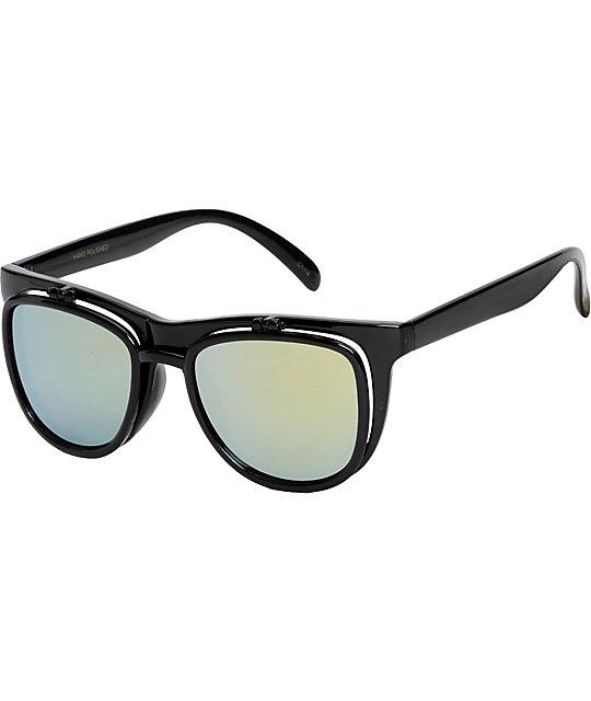 Jack Martin Bueller Black Sunglasses