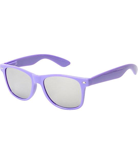 Jack Martin Frisky Business Assorted Neon Mirrored Sunglasses