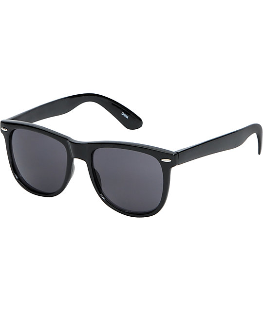 Zumiez Sunglasses  jack martin frisky business shiny black sunglasses at zumiez pdp