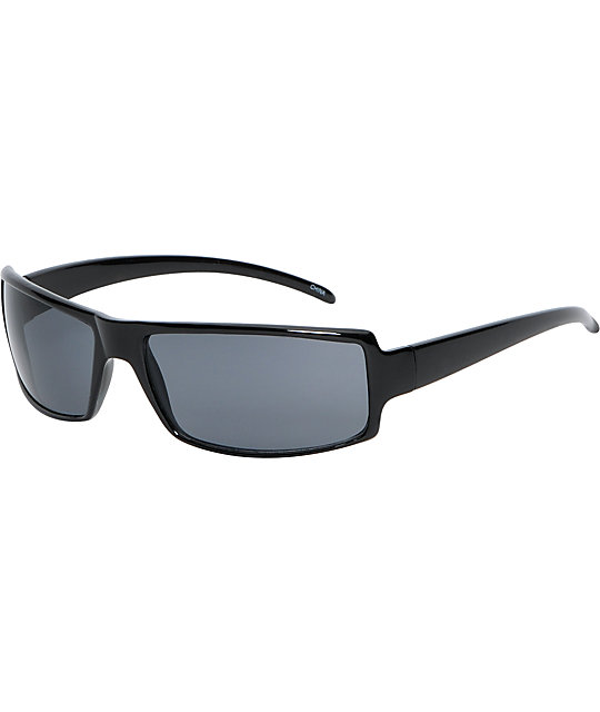 Jack Martin Gorgeous George Black Sunglasses