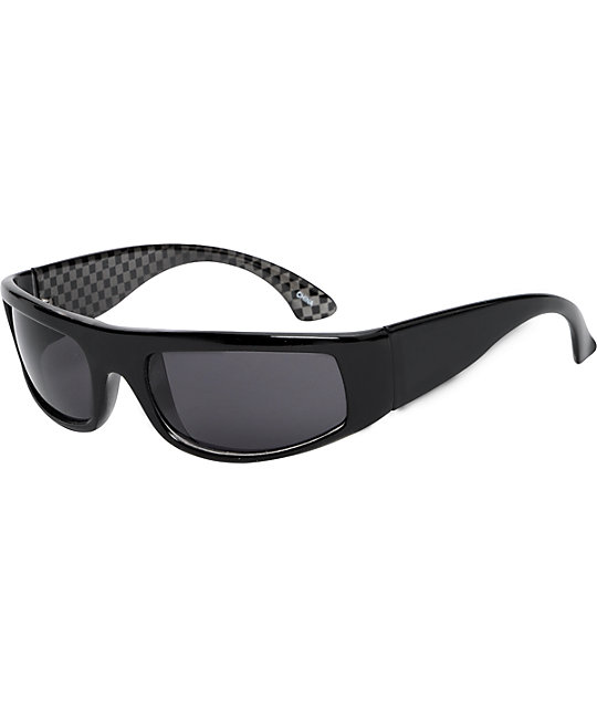 Jack Martin Larrys Homework Checkers Sunglasses