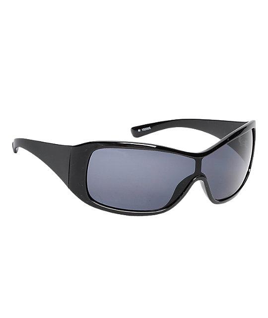 Jack Martin Minitaur Black Sunglasses
