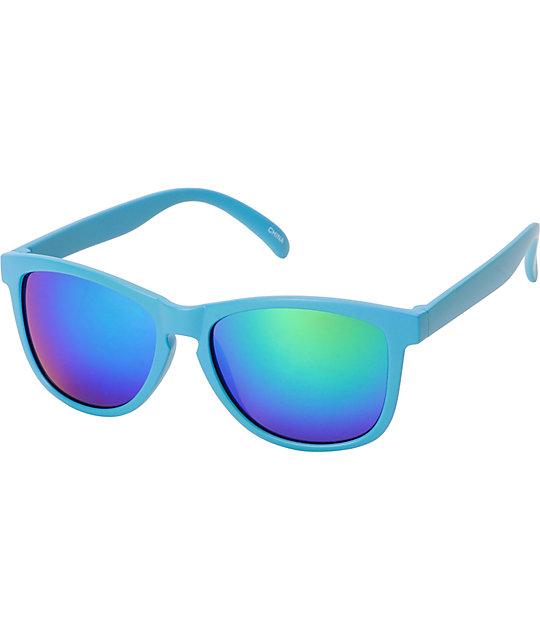 Jack Martin Motosurf Matte Blue Sunglasses