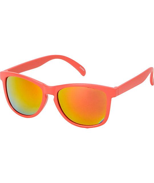 Jack Martin Motosurf Matte Red Sunglasses